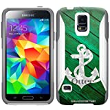 Otterbox Commuter Anchor on Green Wood Case for Samsung Galaxy S5