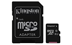 Professional Kingston 256GB BlackBerry KEY2 MicroSDXC Card with Custom formatting and Standard SD Adapter! (Class 10, UHS-I) (Color: 256GB)