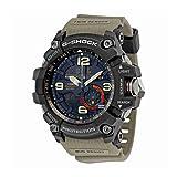 Casio Men's 'G Shock' Quartz Resin Casual Watch, Color:Beige (Model: GG-1000-1A5CR) (Color: Black/Tan, Tamaño: One Size)