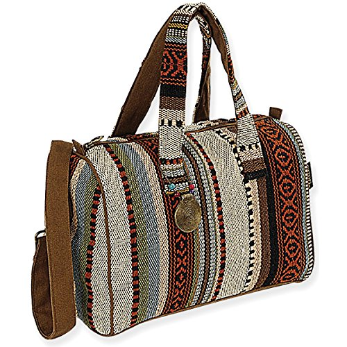 Laurel Burch Catori Satchel, 13-Inch by 7-Inch by 12-Inch, Sandsation