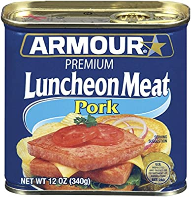 Armour Premium Luncheon Meat, 12 Ounce (Pack of 12) from Pinnacle Food Groups