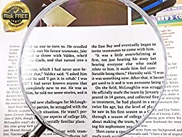 Large Classic Round Magnifying Glass 5\