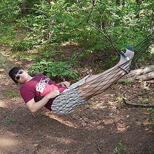 Bestdealusa Nylon Hammock Mesh Net Sleeping Bed Garden Travel Camping front-708561
