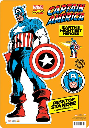 Aquarius Marvel- Captain America Desktop Standee