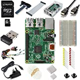 Vilros Raspberry Pi 2 -- Model B (1GB)-- Ultimate Starter Kit--Includes--Clear Case--8GB Kingston Micros SD Card--HDMI Cable--WiFi adapter And Much More