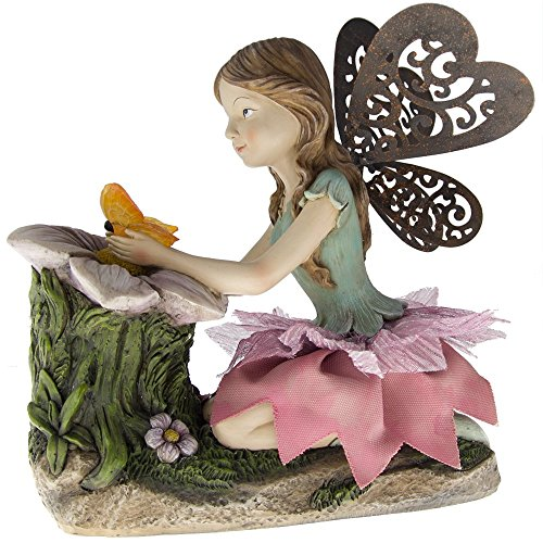Outdoor Solar Fairy Resin