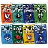 Alex Rider Pack, 8 books, RRP