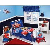 Disney Cars Club 4 Piece Toddler Bed Set