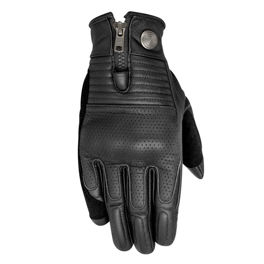 Alpinestars Rayburn Leather Motorcycle Glove - Black - Medium 0
