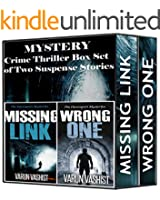 Boxed Sets : Mystery: Crime Thriller Box Set of Two Suspense Stories (Suspense novel series of adventure mystery books and Crime mystery thrillers) (English Edition)