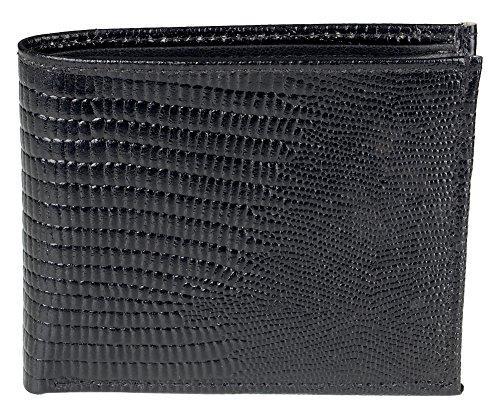 sportolir-mens-genuine-leather-slim-bifold-wallet-credit-card-money-holder-case-black-crocodile