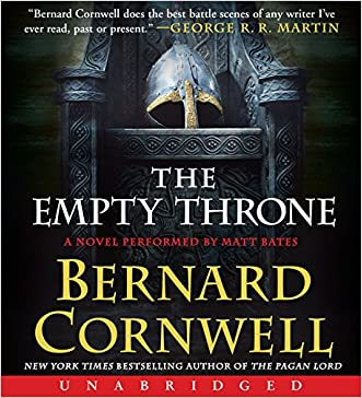 The Empty Throne CD: A Novel (Saxon Tales) written by Bernard Cornwell