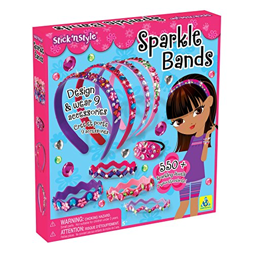 The Orb Factory Stick 'n Style Sparkle Bands