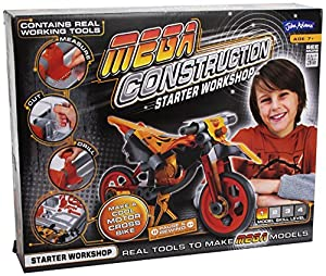 Mega Construction Starter Workshop Motor Bike