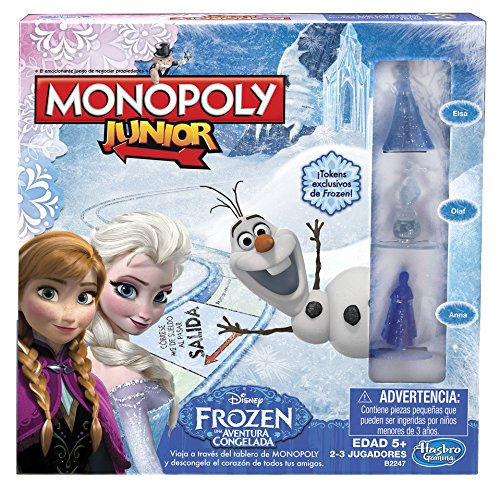 Monopoly Junior Game Frozen Edition