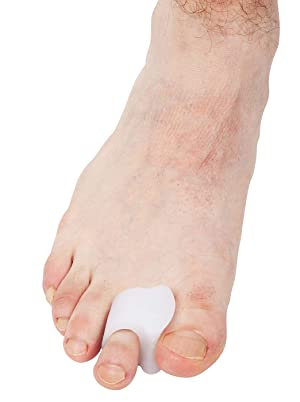 Bunion Corrector (10 PCS) - Toe Separators, Spreader, Straightener | Washable & Discreet Pads | Comfortable Cushions, Gently Realigns Toes | Toe Guard