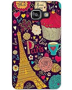 Hugo Samsung Galaxy C5 Back Cover Hard Case Printed