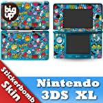 Nintendo 3DS XL Skin STICKERBOMB 3 Mo...
