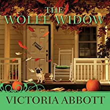 The Wolfe Widow: Book Collector Mystery, Book 3 (       UNABRIDGED) by Victoria Abbott Narrated by Carla Mercer-Meyer