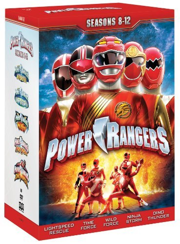 Power Rangers: Seasons Eight - Twelve by Tracy Lynn Cruz (Power Rangers Season 8 compare prices)