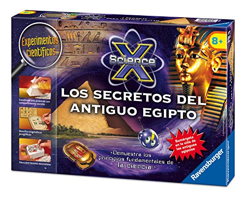 Ravensburger - Science X midi: los secretos del Antiguo Egipto (18980 9)