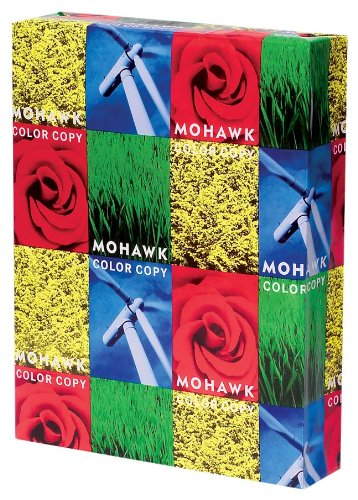 Mohawk 100% Recycled Color Copy/Laser Paper,
