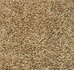 SQUARE 8\'X8\' Sandstone 25 oz Indoor Frieze Area Rug | Sandstone 25 oz 3/8\