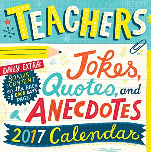 Teachers 2017 Day-to-Day Calendar