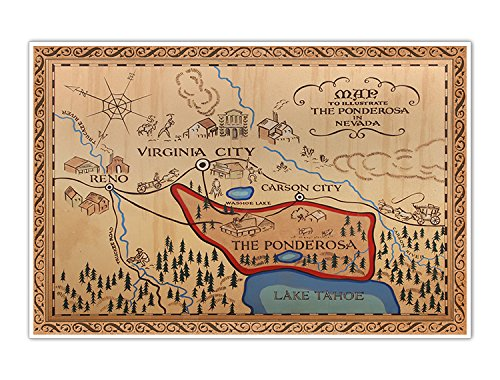 bonanza-western-map-of-the-ponderosa-vintage-cowboy-large-24-x-36-poster