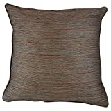Home Kouture Polyester Single Rainbow Multicolored Cushion Cover; Brown & Green, 40.64 X 40.64 CM