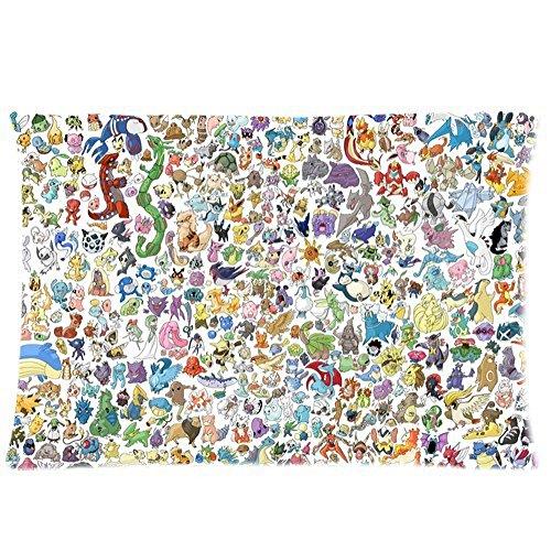 "Anime Dakimakura Hugging Federa cuscino Pokemon 50,80 x 76,20 (20"") 30 cm x 2 lati per stanza"