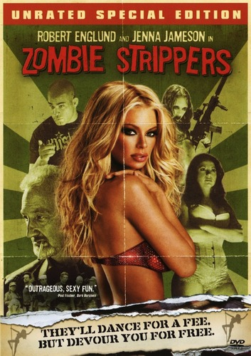 Zombie Strippers DVD Cover