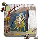 Angelique Cajam India - Fort Gloconda paintings - 10x10 Inch Puzzle (pzl_26797_2)