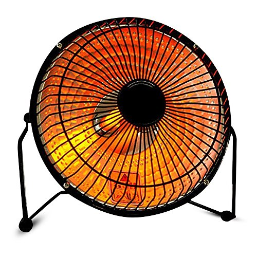 Mini Fan Heater Sunny Warmer Household Space Heaters Energy Saving Heaters Energy saving and high thermal efficiency can rotate 360 degrees (6Inch) (High Quality Space Heaters compare prices)