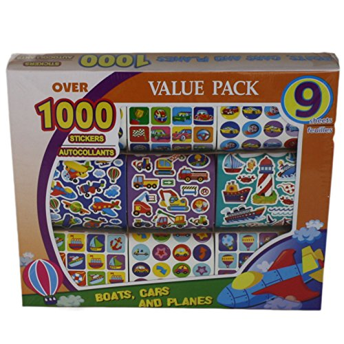 Arts And Crafts Organizer Storage Box With Stickers