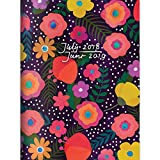 Blooming Floral Monthly 2019 Planner: July 2018 - June 2019 (Academic Year)