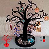 Jewelry Tree Stand Holder Earring Bracelt Necklace Organizer Display Accessories