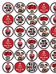 30 Red Nose Comic Relief Premium Rice...