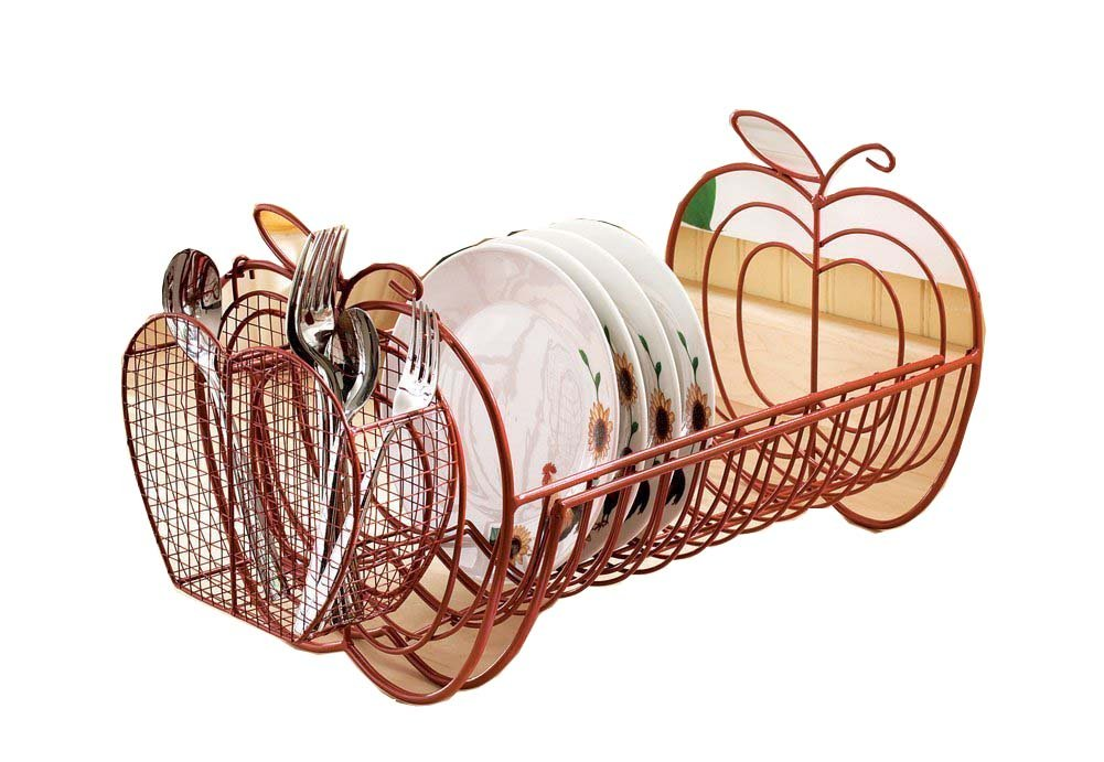 Apple Decor Expandable Dish Rack by Winston Brands knl hobby j deere 530 tractor agricultural vehicle model alloy ornaments wine rack us ertl 1 16