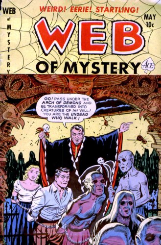 Web of Mystery - 9 cover