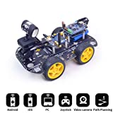 XiaoR Geek DS WiFi Smart Robot Car Kit for Arduino UNO R3,Remote Control HD Camera FPV Robotics Learning & Educational Electronic Toy (Color: Robot car kit, Tamaño: UNO DS)