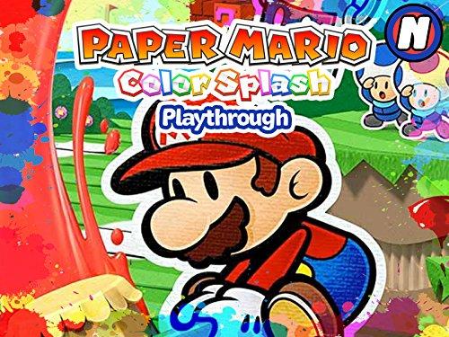 Clip: Paper Mario Color Splash Playthrough - Season 1