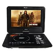 Buyee Handheld Portable DVD Player 9.5 Inch 270 Degree Swivel Screen
