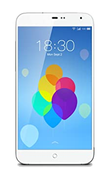Meizu MX3 16GB Smartphone Compact Blanc