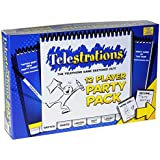 Telestrations _ 12 Player Party Pack _ Telephone Game Sketched Out!