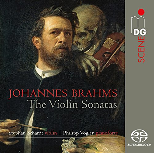 SACD : BRAHMS / SCHARDT,STEPHAN / VOGLER,PHILIPP - Complete Violin Sonatas