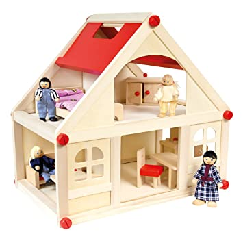 BINO Furnished Doll House