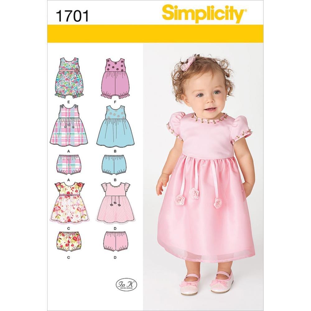 Simplicity 1701.A – Patrones de costura para vestidos y conjuntos de ...