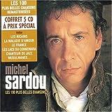 echange, troc Michel Sardou - Les 100 Plus Belles Chansons