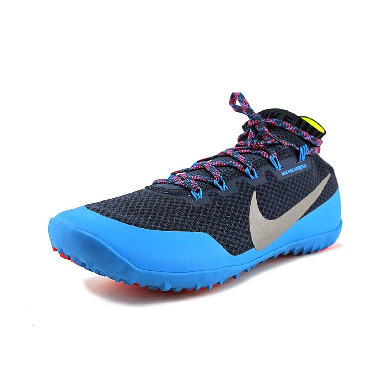 Nike Men's Free Hyperfeel Run Trail, SQUADRON BLUE/REFLECT SILVER-BLUE HERO-CHILL, 11 M US